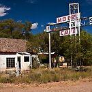 Ghost Town - Glenrio, Texas by Tim Denny