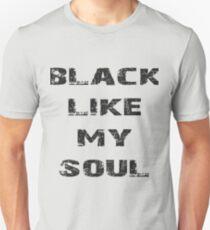 black like my soul T-Shirt