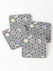 Petri Dishes Coasters