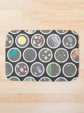 Petri Dishes Bath Mat