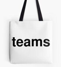teams Tote Bag