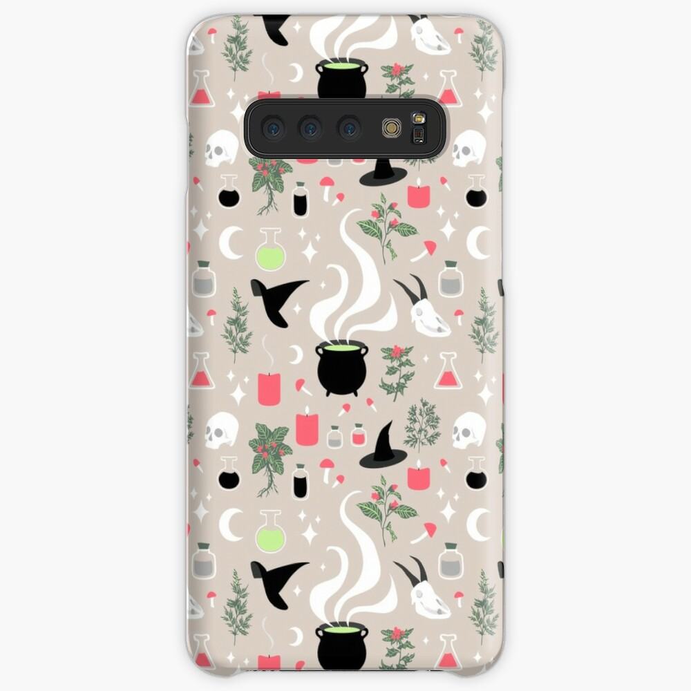Witchy Pattern - Light Samsung Galaxy Snap Case