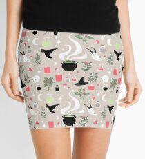 Witchy Pattern - Light Mini Skirt