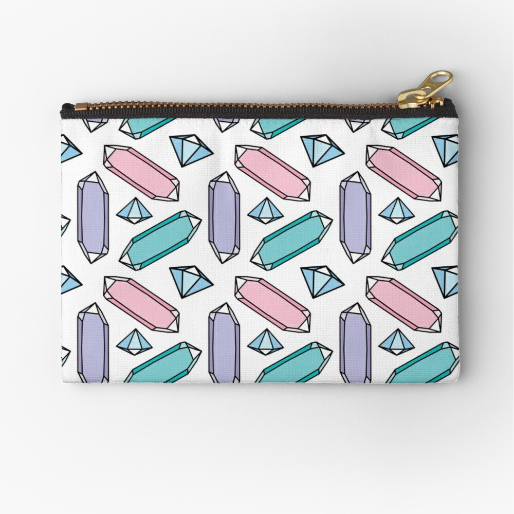 Crystals Zipper Pouch