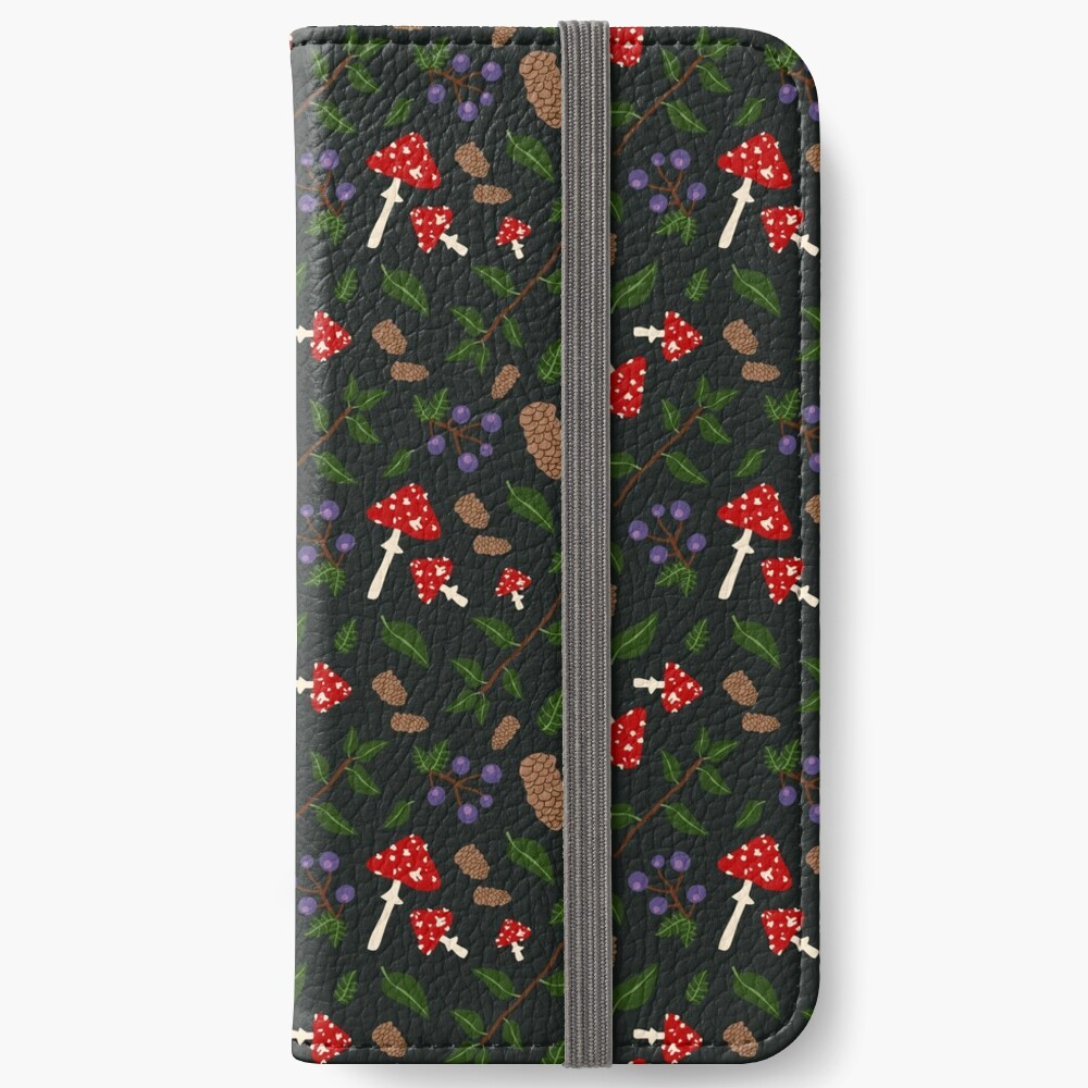 Forest Pattern iPhone Wallet