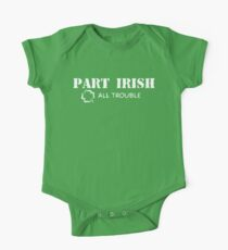 Part Irish All Trouble Baby Body Kurzarm