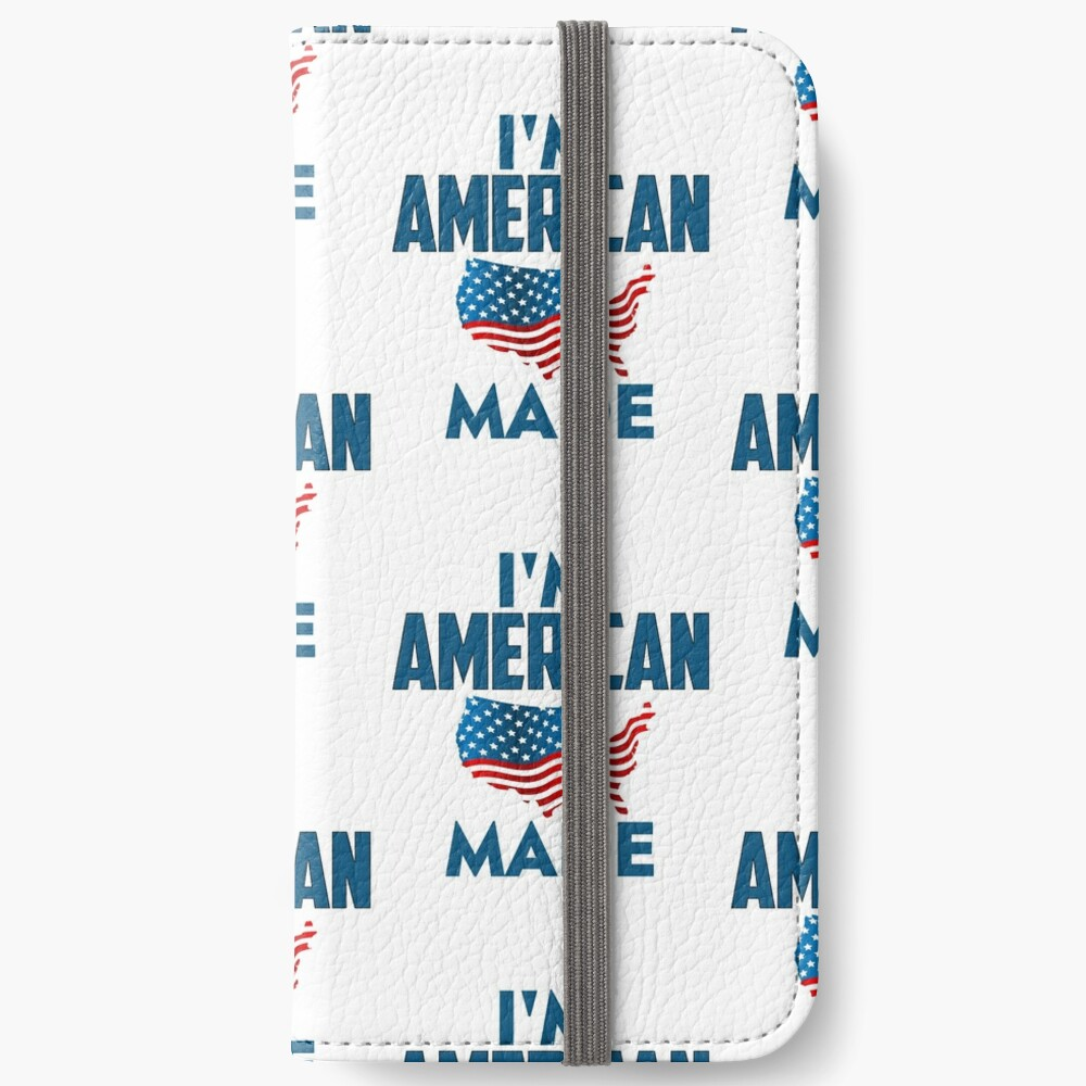 I Am American iPhone Wallet