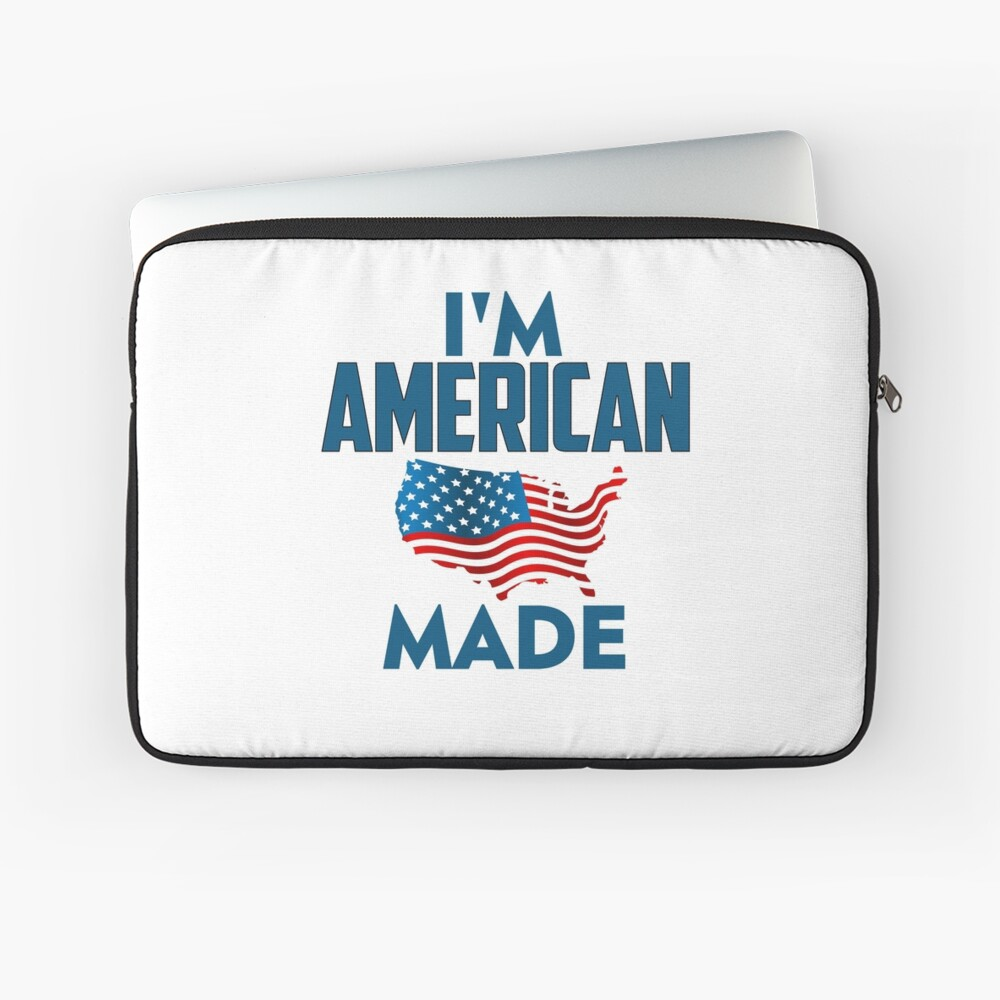 I Am American Laptop Sleeve