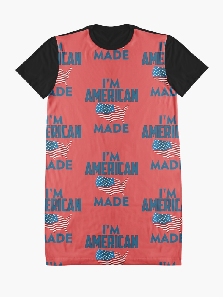 Alternate view of I Am American Graphic T-Shirt Dress