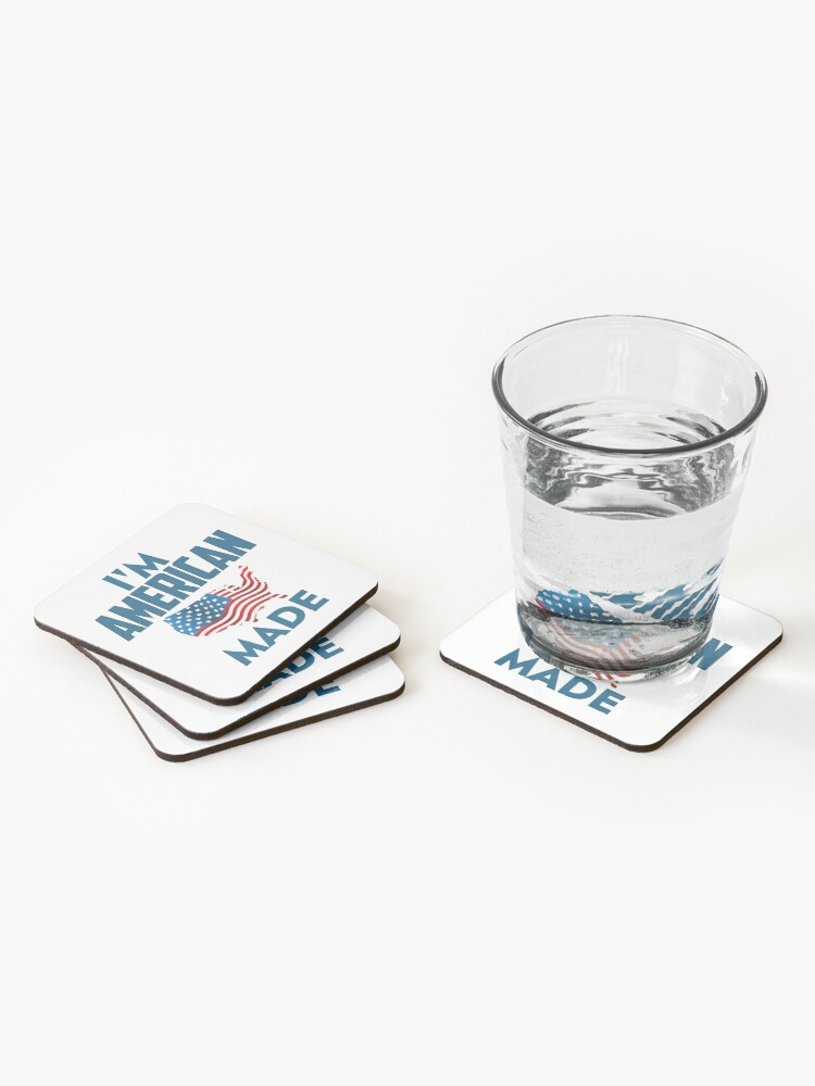 Alternate view of I Am American Coasters (Set of 4)