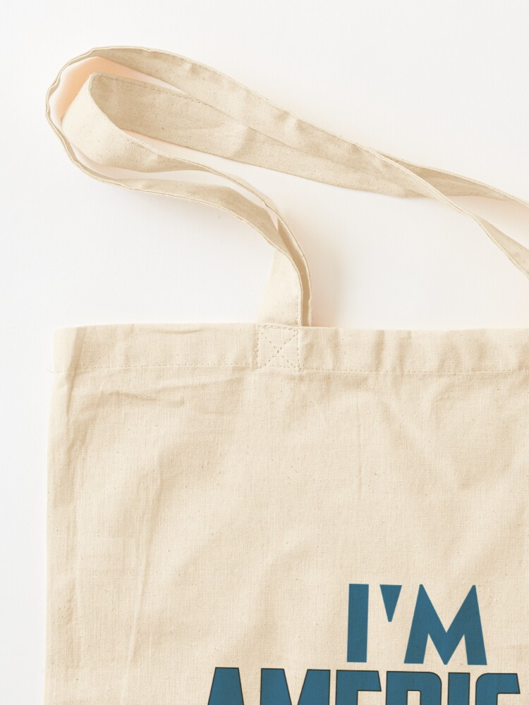 Alternate view of I Am American Tote Bag