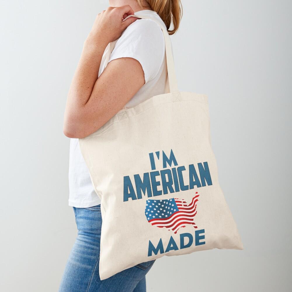 I Am American Tote Bag