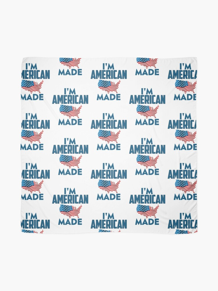 Alternate view of I Am American Scarf