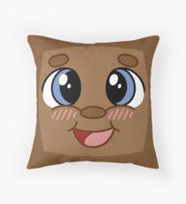 Tiny Box Tim Throw Pillow
