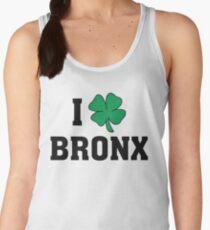 I Love (Shamrock) Bronx Women's Tank Top