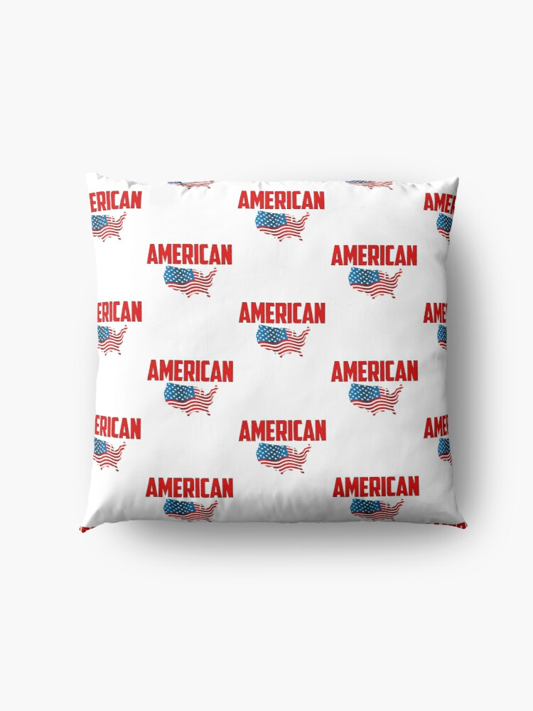 Alternate view of American Made Floor Pillow