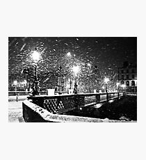 Winter in Dublin Photographic Print