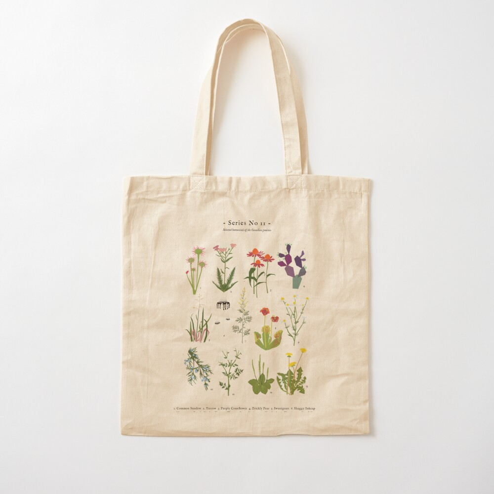 Canadian Prairie Botanicals Cotton Tote Bag