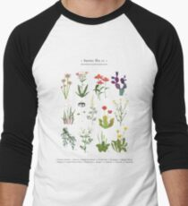Canadian Prairie Botanicals Baseball ¾ Sleeve T-Shirt