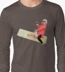 Paula deen riding butter Long Sleeve T-Shirt