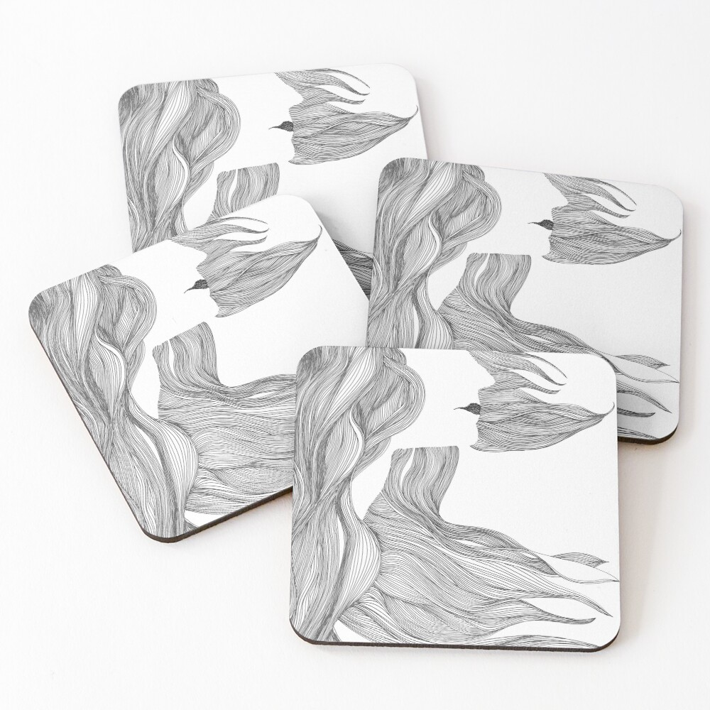 Isadora Coasters (Set of 4)