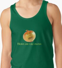 Ogres are like onions Tank Top