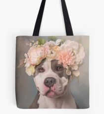 Flower Power, Bertha Bean Tote Bag