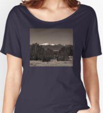 ANCIENT SPIRIT MOUNTAINS Women's Relaxed Fit T-Shirt