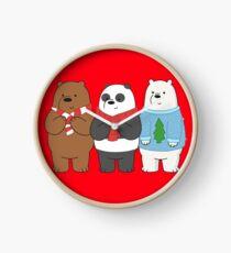 We Bare Bears Clock