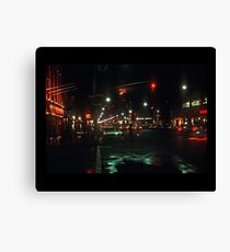 Greenwich Village at Night Canvas Print