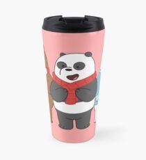 We Bare Bears Travel Mug