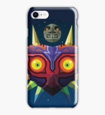 Majora's Mask (Low-Poly) iPhone Case/Skin