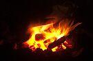 The Campfire by Odille Esmonde-Morgan