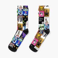 Musicals Collage III Socks