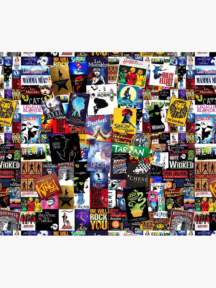 Musicals Collage IV  by BrambleBox