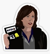 Agent Monica reyes FBI Sticker