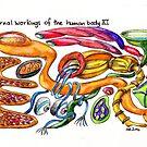 Internal workings of the human body XI by TrueInsightsNZ