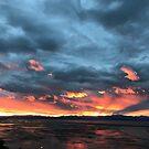 Nelson, New Zealand - sunset from Marybank by TrueInsightsNZ
