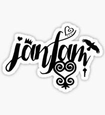 JanFam - Fans & Friends Logo 2015 Sticker