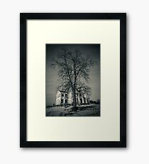 Welcome To Your Death Framed Print