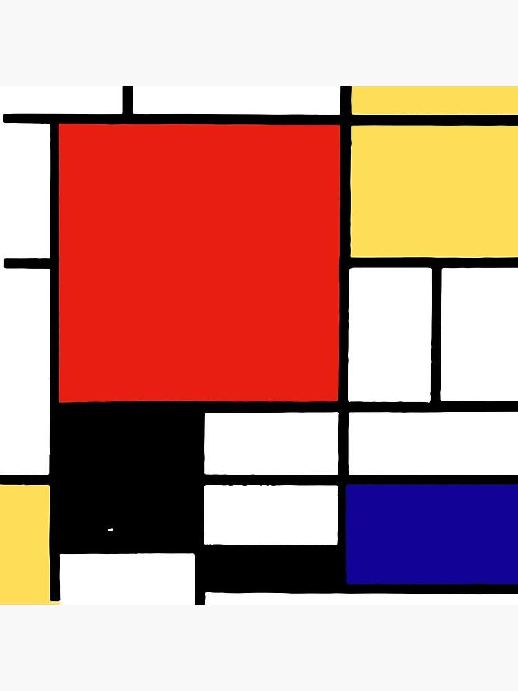 Mondrian  by RockTheShirt