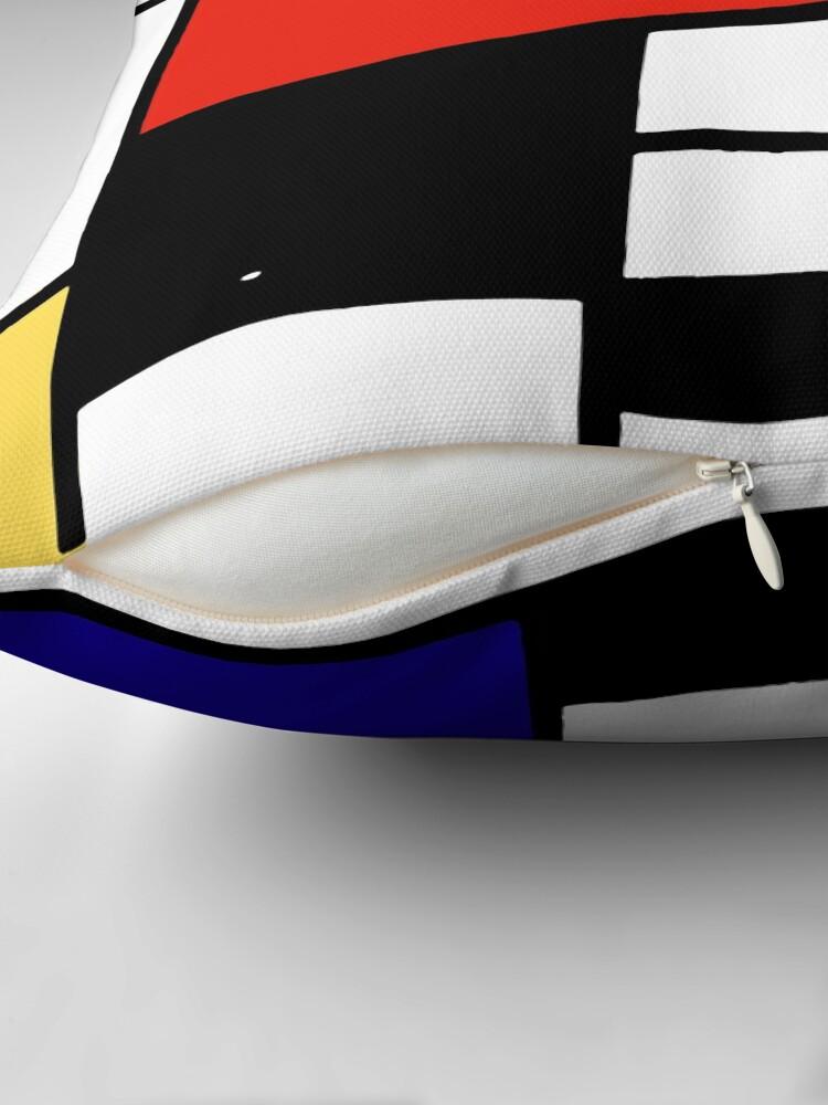 Alternate view of Mondrian  Throw Pillow