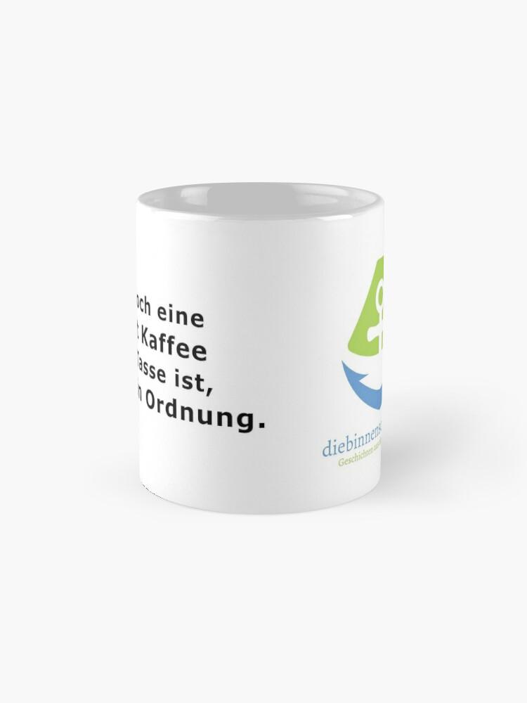 Alternative Ansicht von Logo und Spruch Tasse Tasse