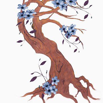 flowerladytree by lilbat