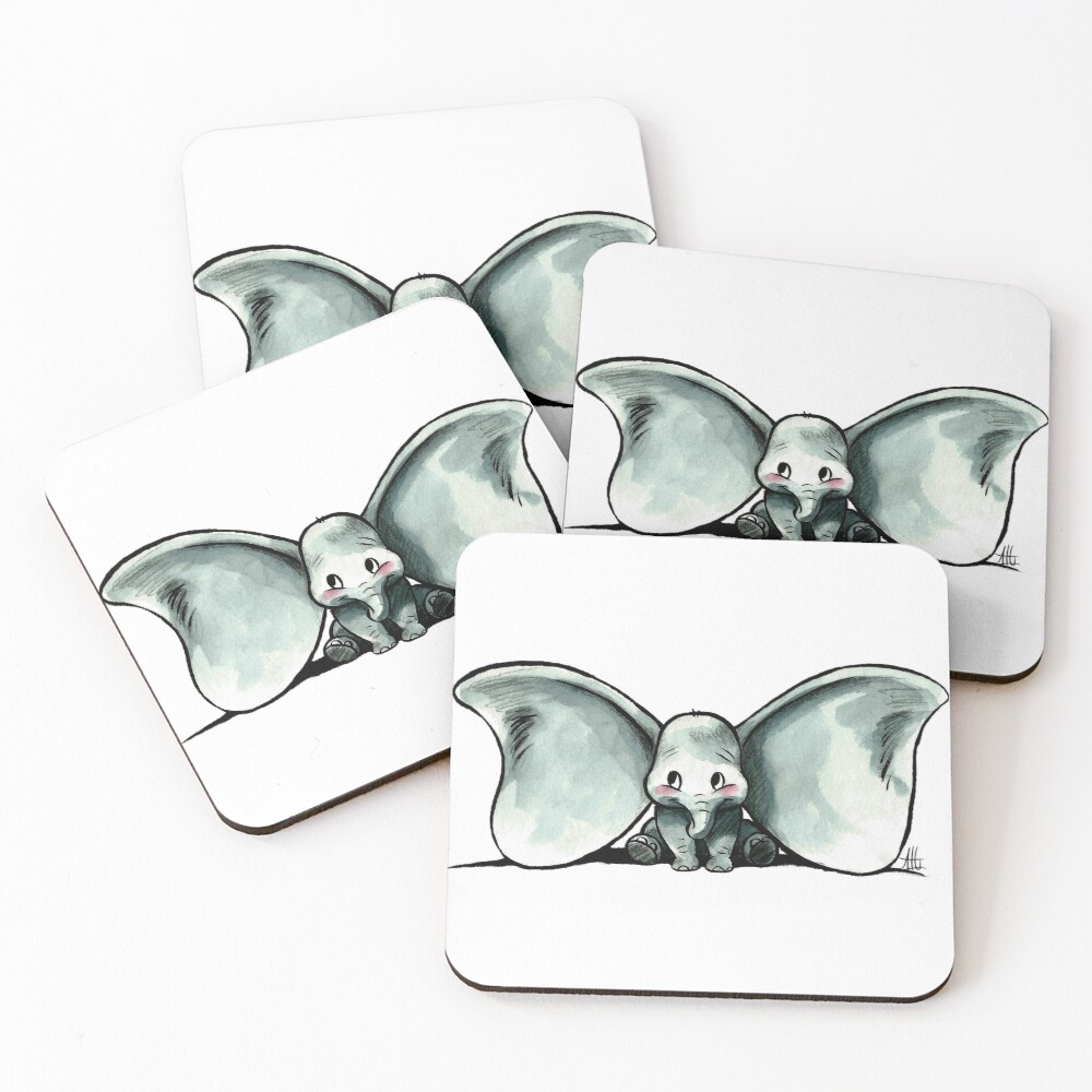 DUMBO Coasters (Set of 4)