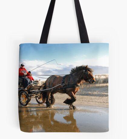 A beach ride Tote Bag