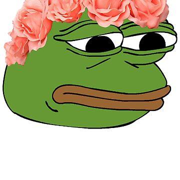 Flor corona pepe rana de PennySoda