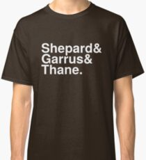 Mass Effect Names - 5 Classic T-Shirt