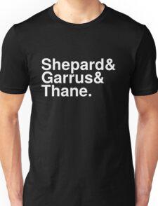 Mass Effect Names - 5 Unisex T-Shirt