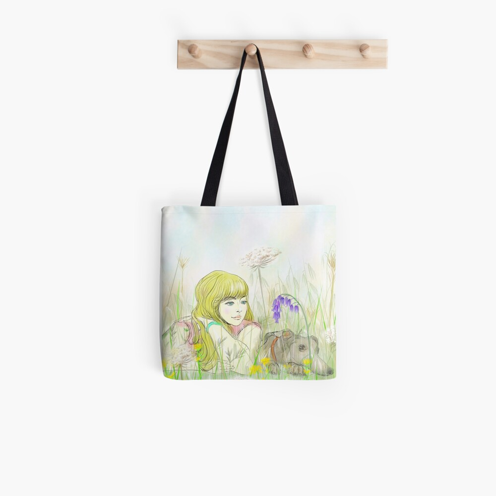 Beside one another Tote Bag